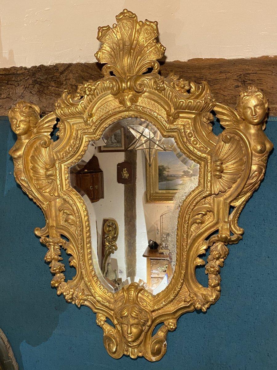 Miroir Aux Chimères D'époque Régence