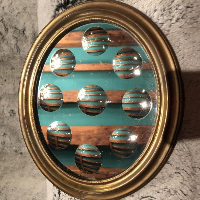 Miroir à Pastilles XIXème Siècle