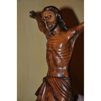 Christ En Buis Du 17 ème Siècle