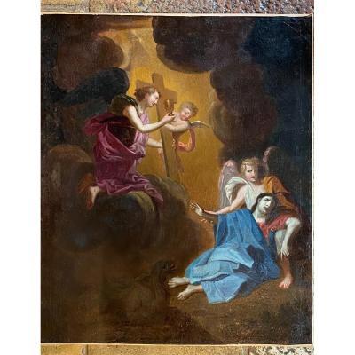 L'agonie Du Christ Au Jardin Des Oliviers, XVII Eme Siècle