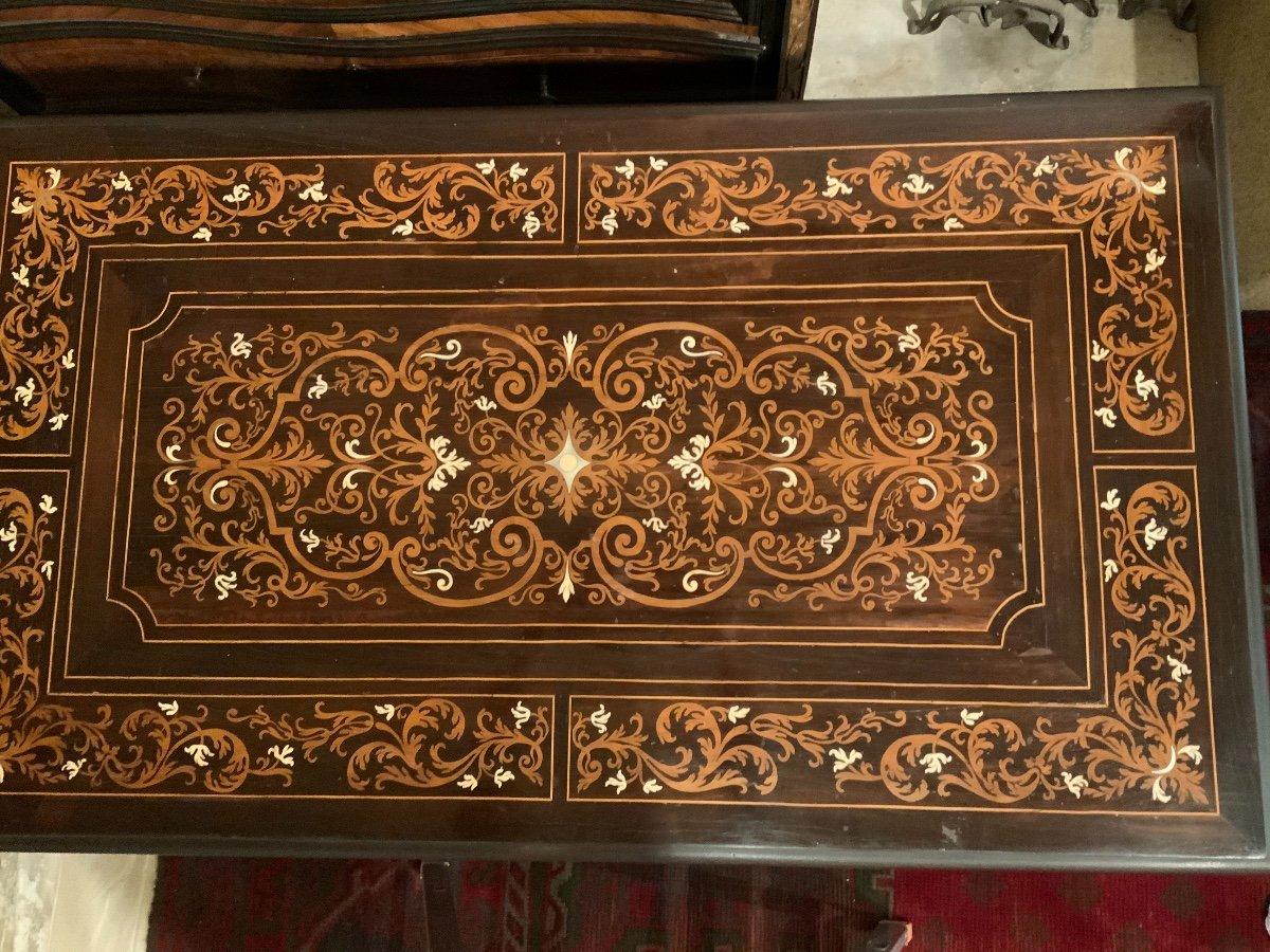 Bureau Mazarin, époque Louis  XIV-photo-2