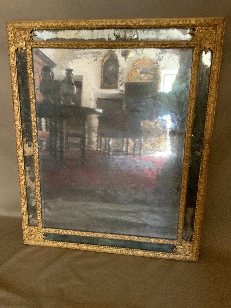 Miroir à Parcloses Louis XIV