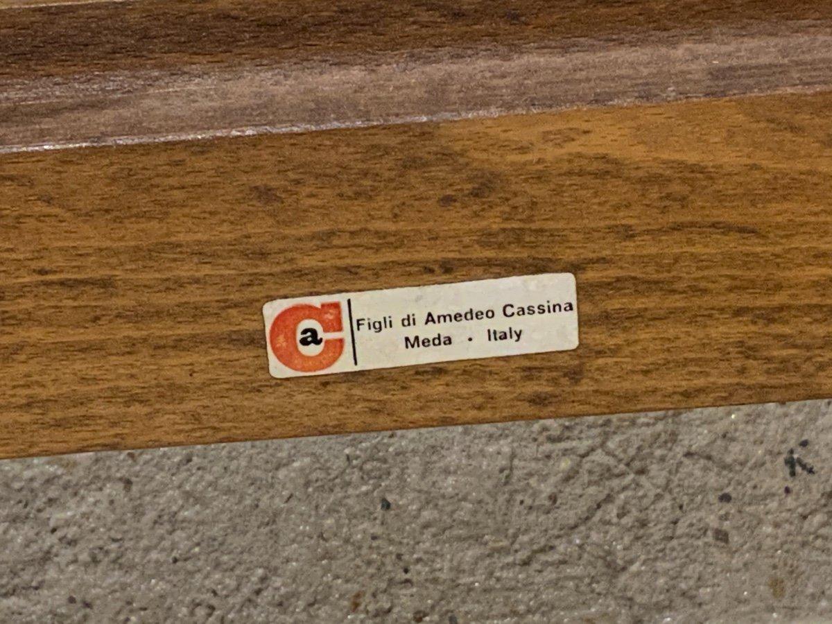 Suite De 6 Chaises «carimate» Par Vico Magistretti (1920-2006)-photo-3