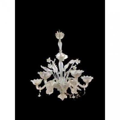Morano Glass Chandelier