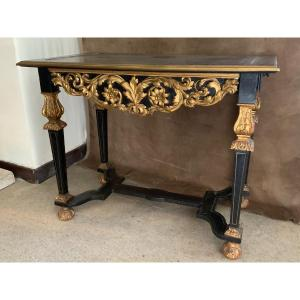 Table Console D'apparat D'époque Louis XIV