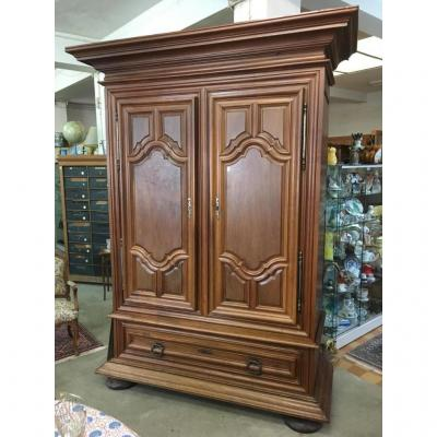 Wardrobe D Louis XIV Walnut
