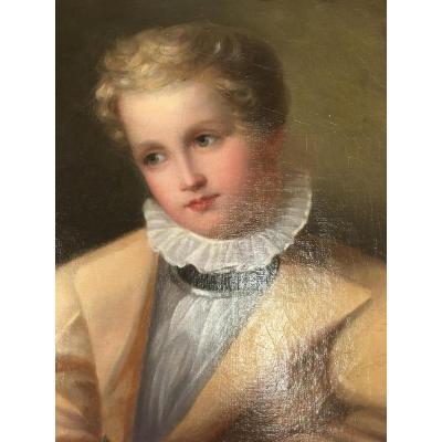Portrait D époque Directoire