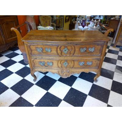 Louis XV Commode 18th Walnut