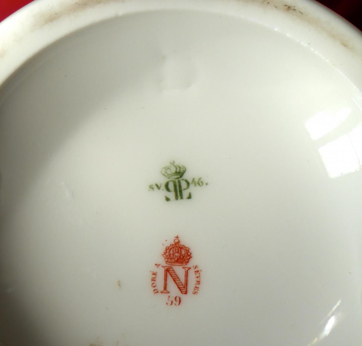 Pot à Décoction Manufacture Impériale De Sèvres XIX ème Siècle-photo-7