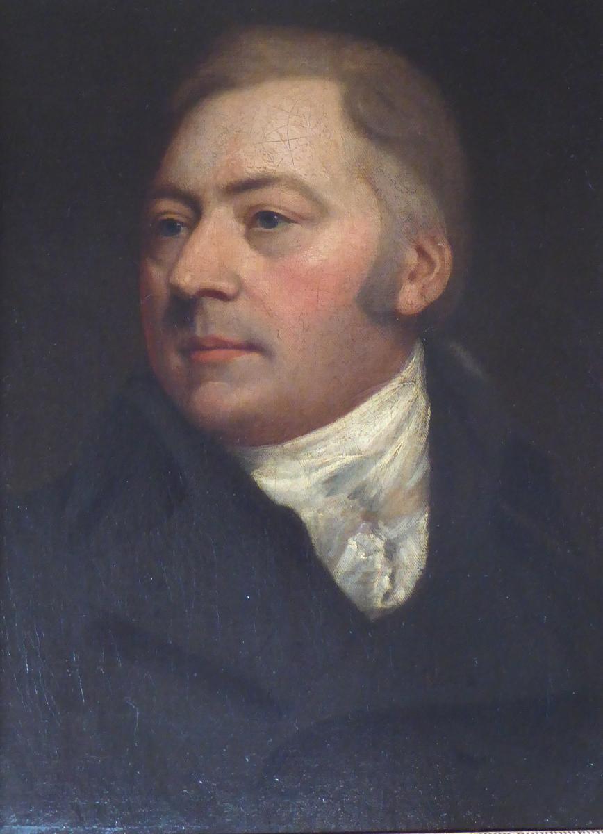 Portrait d'un homme, école romantique du XIX ème