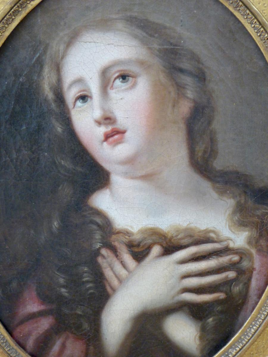 Portrait Féminin Du XVIII ème, Marie Madeleine