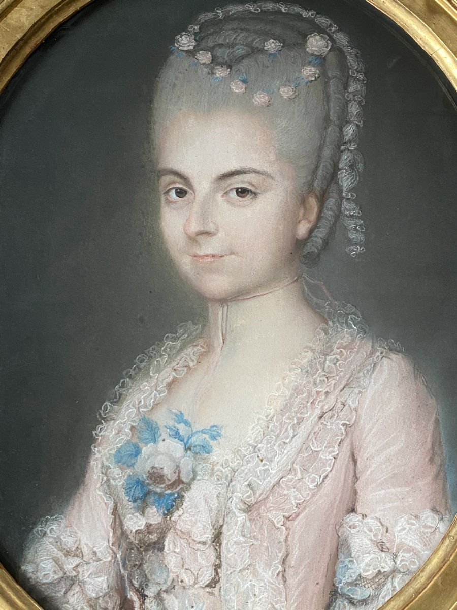 Maria Catherina de Loynes de Morett, travail XVIII ème.