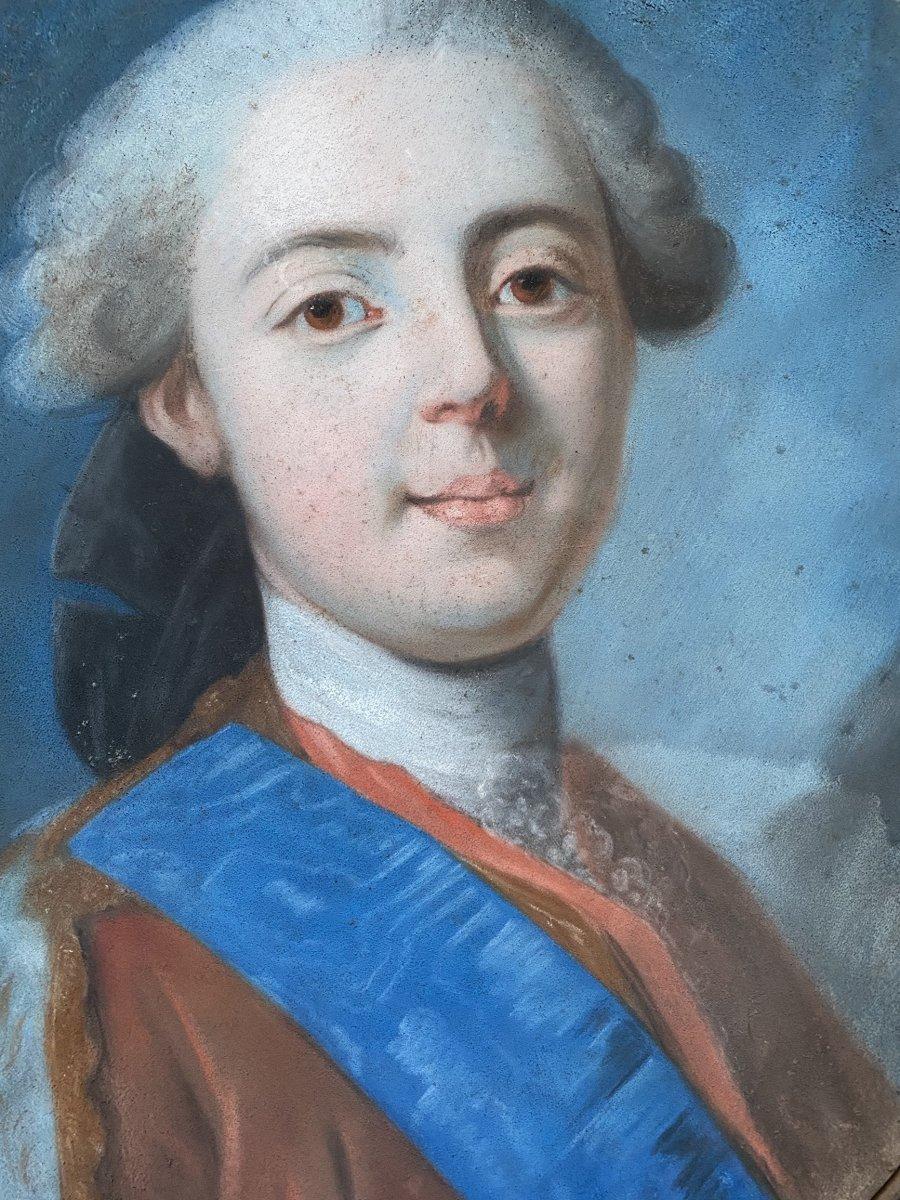 Portrait Du Comte d'Artois, Travail XVIII ème .
