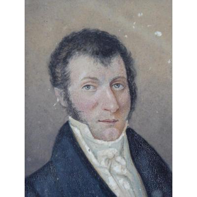 Portrait d'un homme, XIX ème siècle.