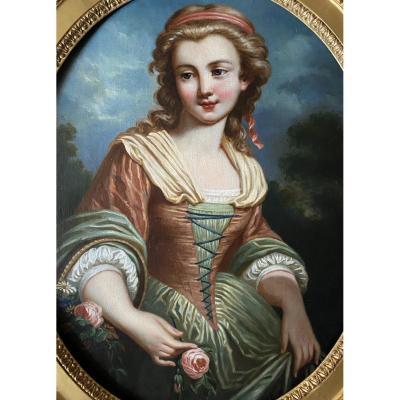 Le Printemps, travail XVIII ème d'époque Louis XV