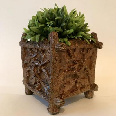 Flower Box Or Bulb In Rusticage