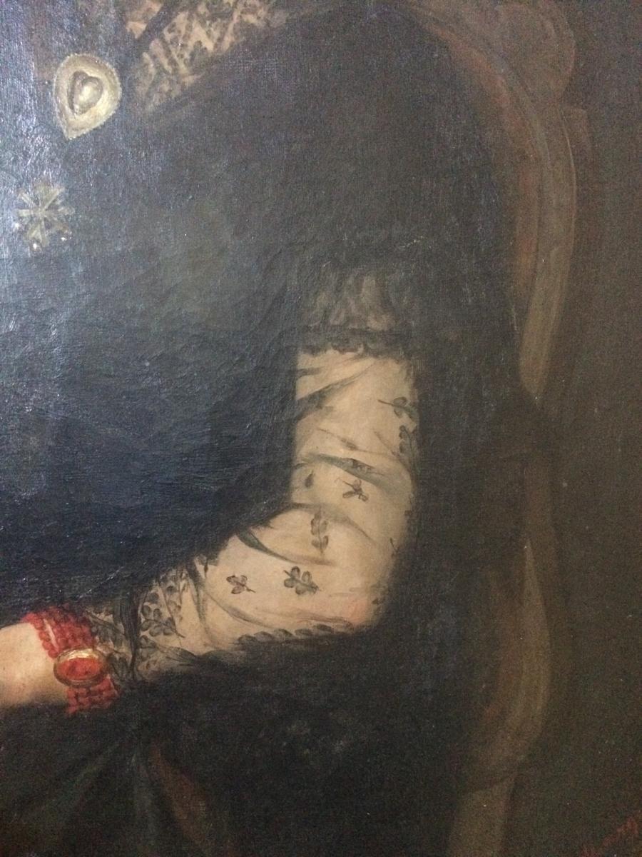 Edouard Hippolyte Margottet,1848-1887, Portrait 100 Cm X 81 Cm-photo-3
