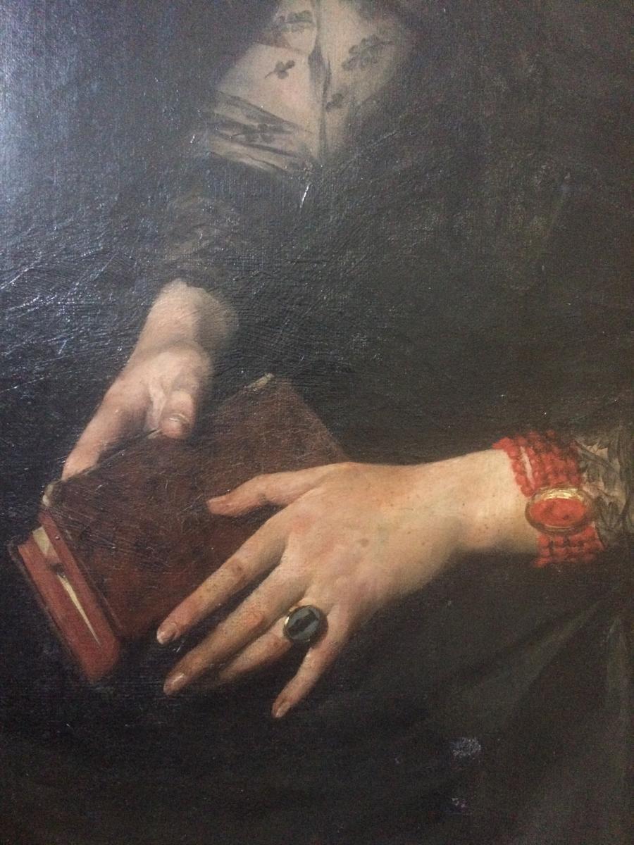 Edouard Hippolyte Margottet,1848-1887, Portrait 100 Cm X 81 Cm-photo-4