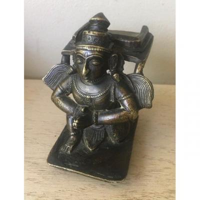 Figure En  Bronze De  Garuda, Tamil Nadu - Inde - 18e Siècle