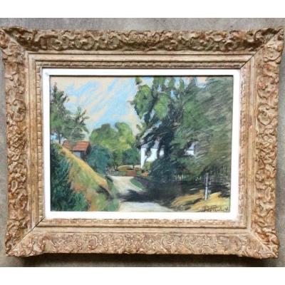 Théo Pasche, Peintre Vaudois, 1879-1965  Suisse