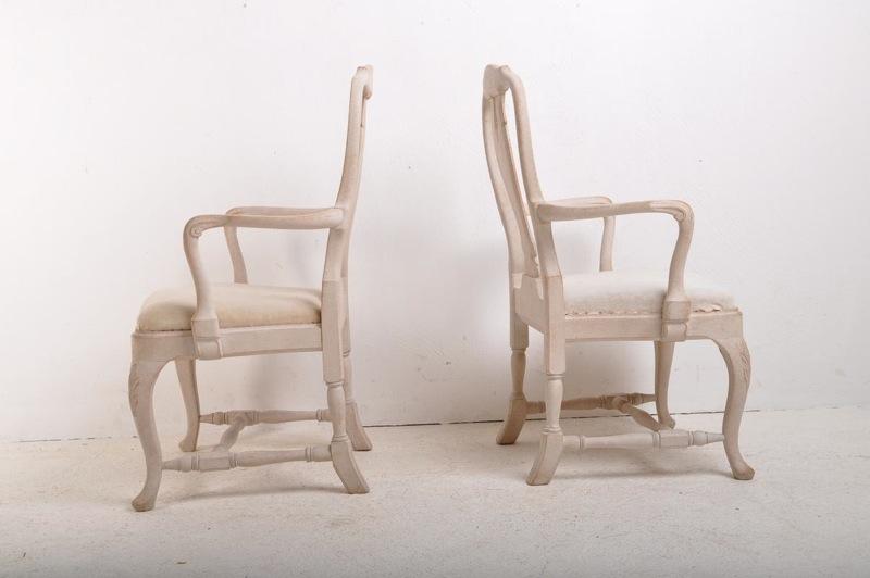 paire de fauteuils su dois de style rococo fauteuils. Black Bedroom Furniture Sets. Home Design Ideas