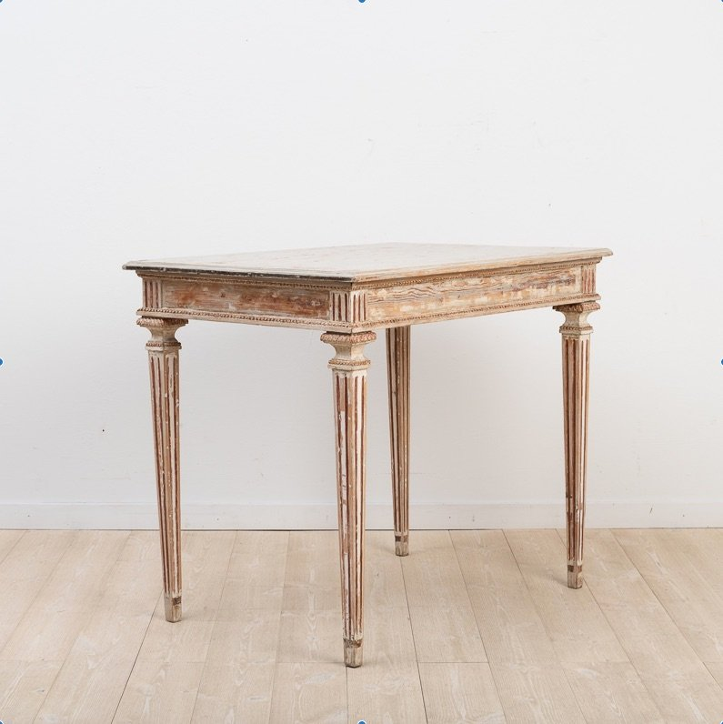 Table-console Suédoise, Circa 1790
