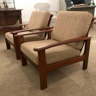 Pair Of Brazilian Armchairs, Circa 1960
