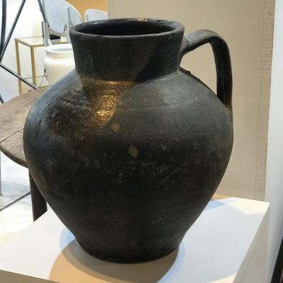 Ancien Pot Espagnol En Terre Cuite