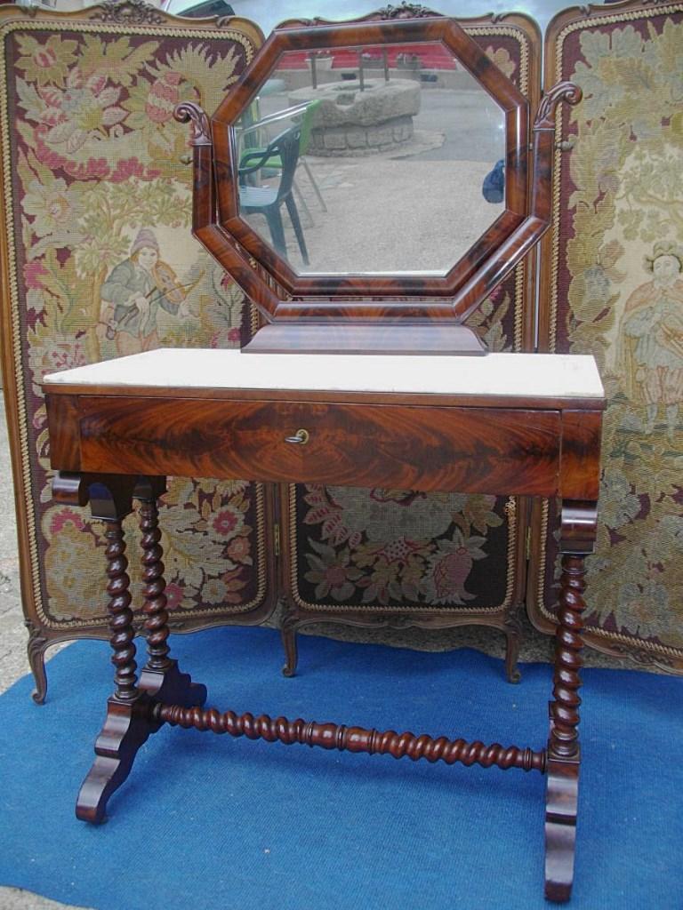 Mahogany Restoration Mirror