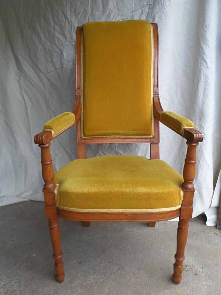 Fauteuil De Barbier Coiffeur XIXème