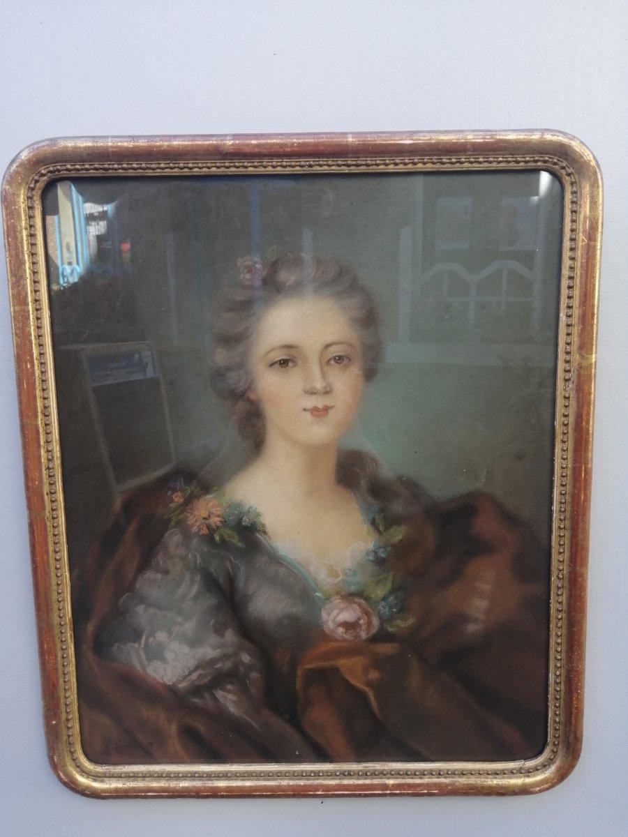 Pastel Louise De France Fille De Louis XV