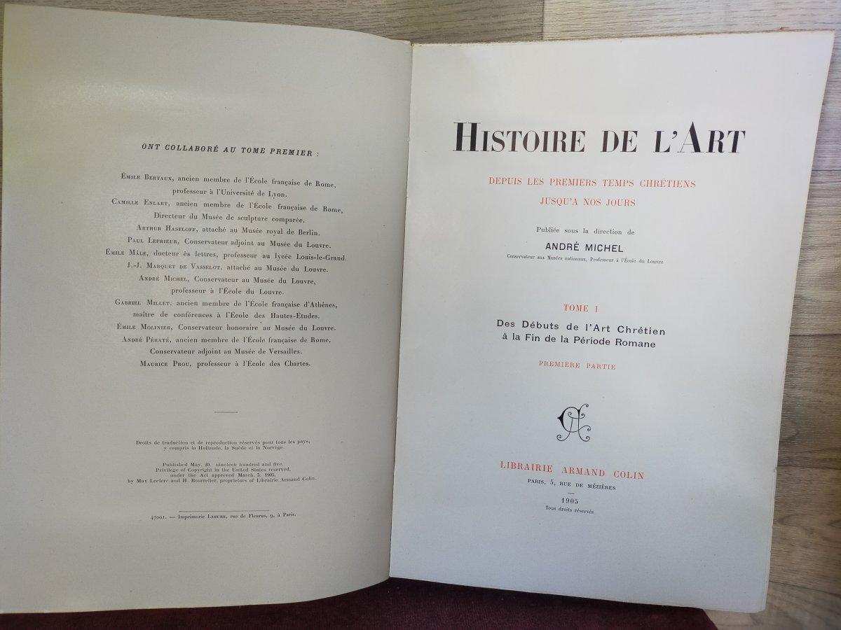 16 Volumes Histoire De l'Art André Michel -photo-2