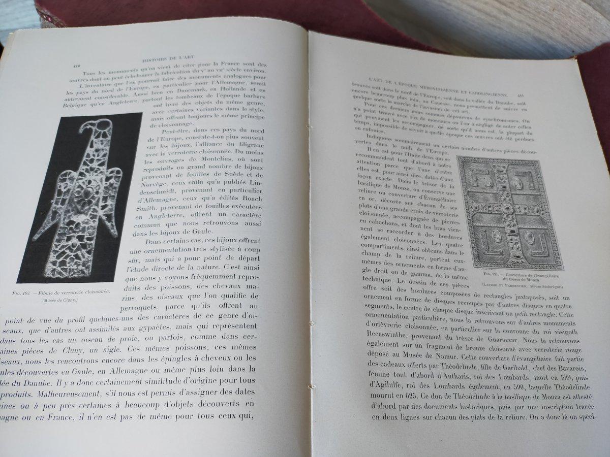 16 Volumes Histoire De l'Art André Michel -photo-3