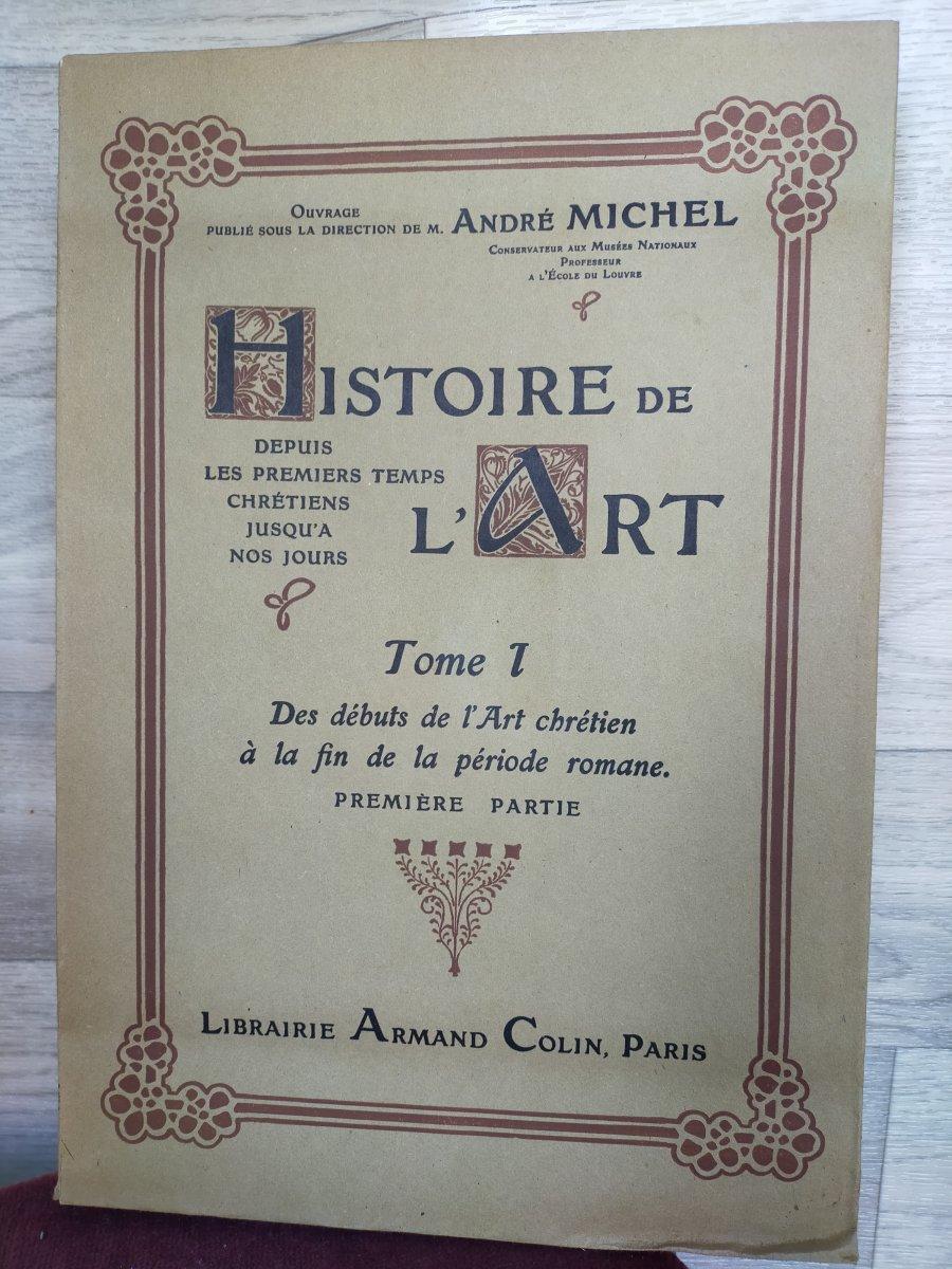 16 Volumes Histoire De l'Art André Michel