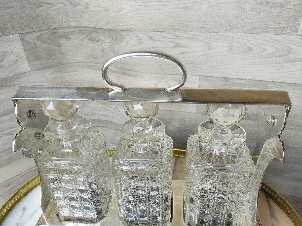Cave A Liqueur Ou Whisky En Cristal De Baccarat -photo-1