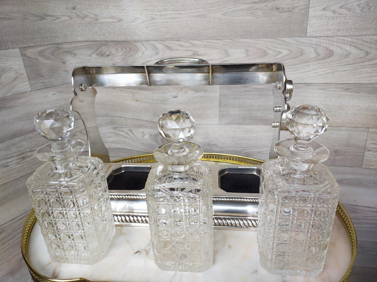 Cave A Liqueur Ou Whisky En Cristal De Baccarat -photo-5