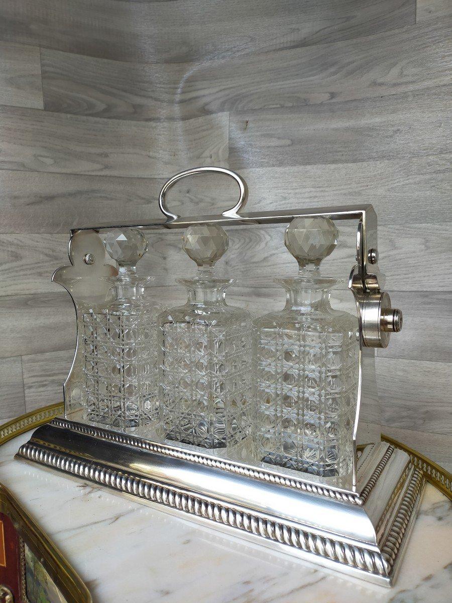 Cave A Liqueur Ou Whisky En Cristal De Baccarat