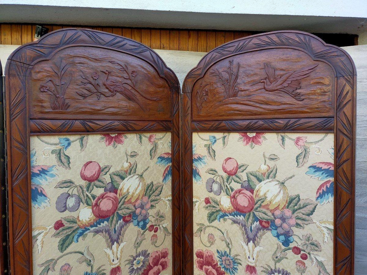 Grand Paravent Art Nouveau Art Déco -photo-3