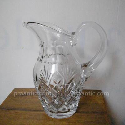 pichet broc en cristal de saint louis