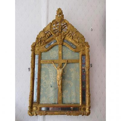 Christ Crucifix En Ivoire Du XVIII ème