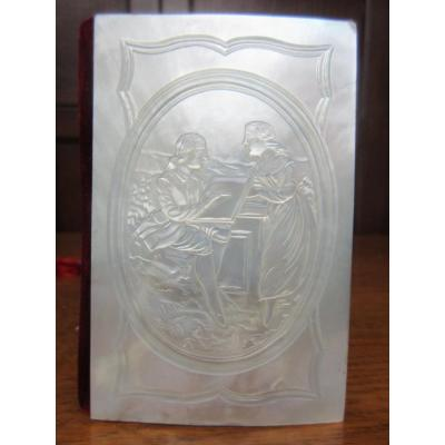 Mother Of Pearl Prom Notebook Scene In A Medallion