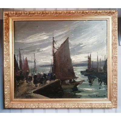 The Port Of Concarneau In Brittany Suzanne Demarest