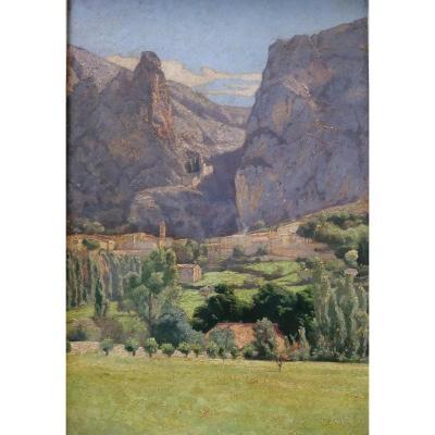Moustiers Sainte Marie Verdon Stanislas Martougen (1873-1962