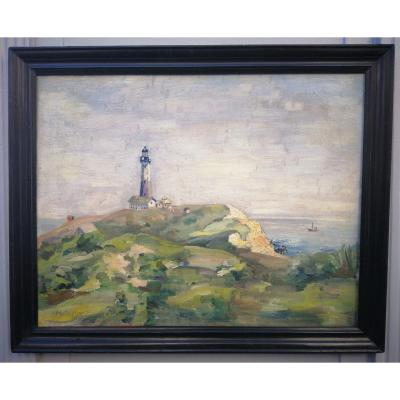 Lucien Mainssieux The Lighthouse Of Tipaza Algeria