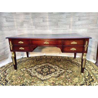 Large Flat Desk Empire Return From Egypt