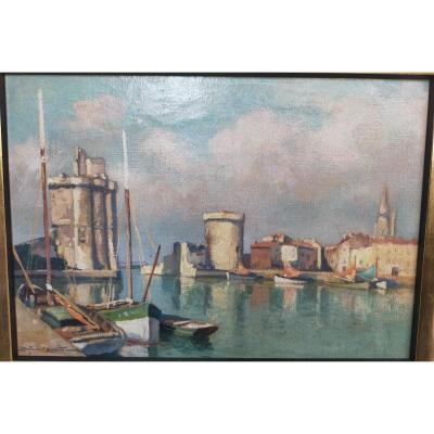 The Port Of La Rochelle Christian Couillaud