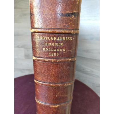 Photographs Belgium Holland 1889 Antoine Béato And Paul Sabah