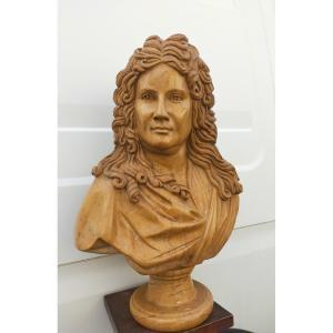 Buste d'Homme Du XVIIIème En Marbre
