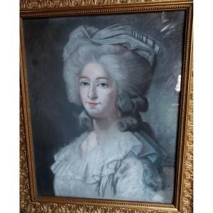 Portrait De Marie Josephine Louise De Savoie, Comtesse De Provence