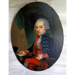 Portrait d'Un Gentilhomme Du XVIIIème